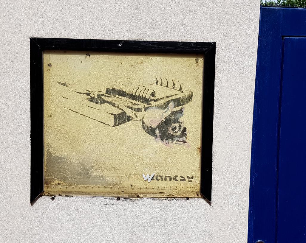 BANKSY – Street Art….