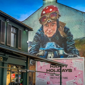HELEN BUR in WALTHAMSTOW - LONDON